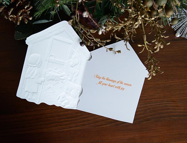 Carol 크리스마스카드163 - 니어앤디어, 1,500원, 카드, 크리스마스 카드